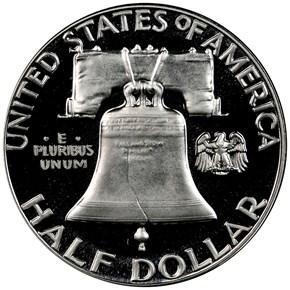 1957 50C PF reverse