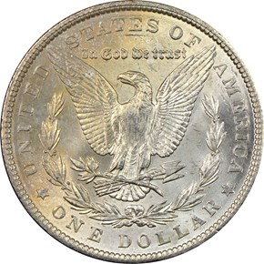 1904 $1 MS reverse