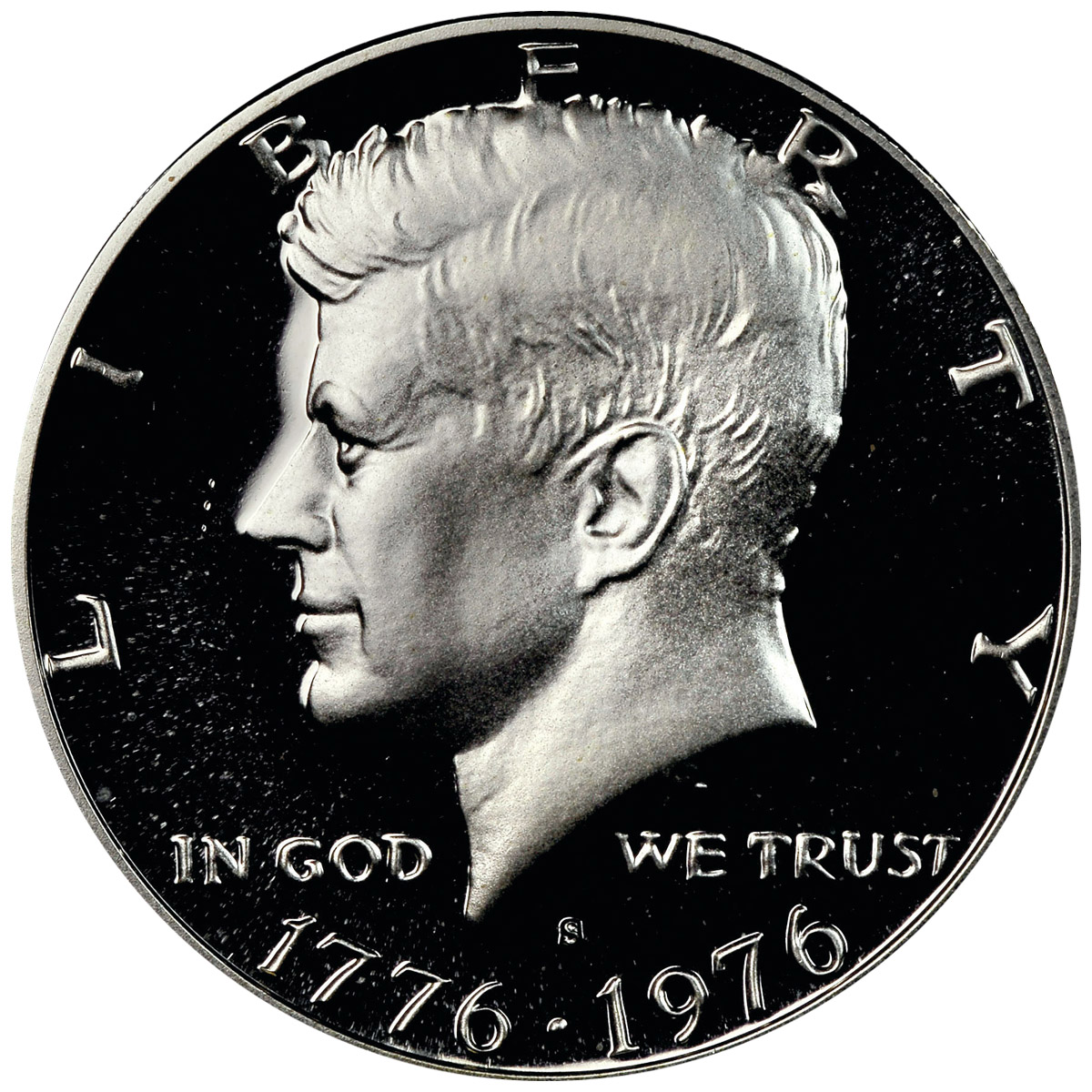 1776-1976 S NGC PF69 CAMEO PROOF SILVER KENNEDY HALF JFK COIN SIGNATURE LABEL