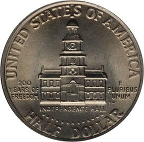 1776-1976 50C MS reverse