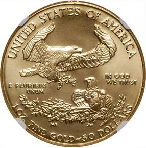 1988 EAGLE G$50 MS reverse