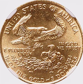 1989 EAGLE G$5 MS reverse