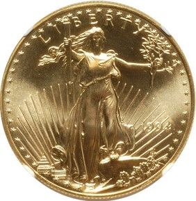1994 EAGLE G$50 MS obverse