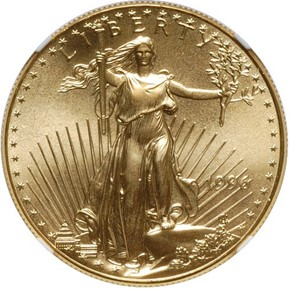 1996 EAGLE G$50 MS obverse