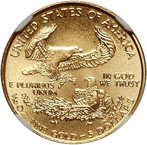 1997 EAGLE G$5 MS reverse