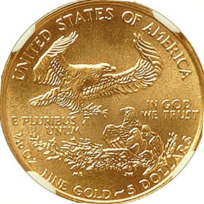 1998 EAGLE G$5 MS reverse