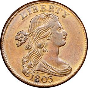 1803 1C MS obverse