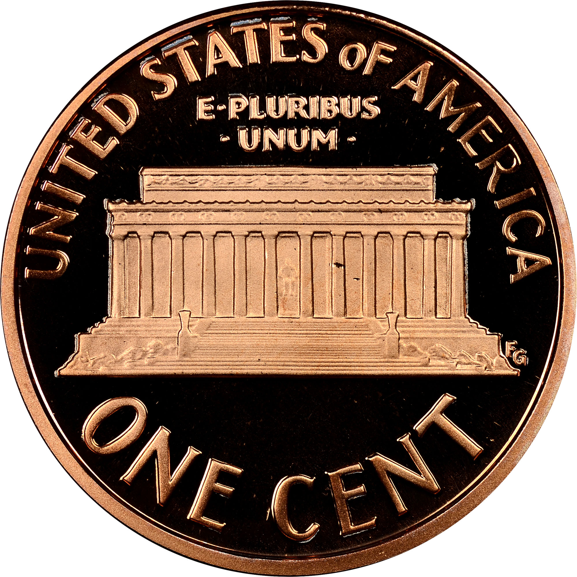 2007-S Proof Lincoln Memorial Cent 1C NGC PF69 RD Ultra Cameo Red