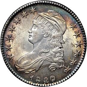 1820/19 50C MS obverse
