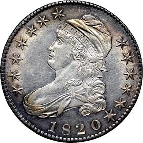 1820 50C MS obverse