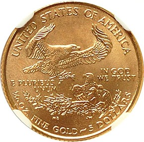 2000 EAGLE G$5 MS reverse