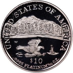 2002 W EAGLE P$10 PF reverse