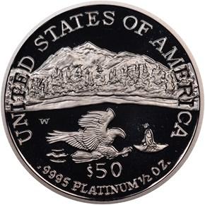 2002 W EAGLE P$50 PF reverse