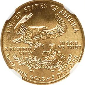 2002 EAGLE G$5 MS reverse