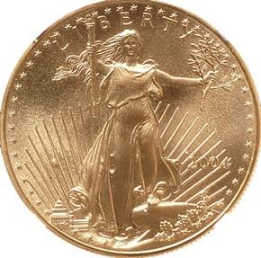 2004 EAGLE G$50 MS obverse