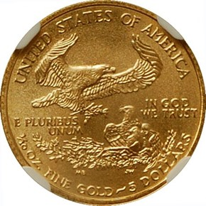 2004 EAGLE G$5 MS reverse