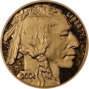 2006 W BUFFALO .9999 FINE G$50 PF obverse