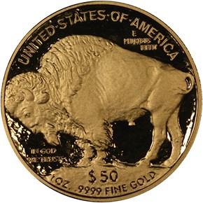 2007 W BUFFALO .9999 FINE G$50 PF reverse