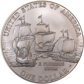 2007 P JAMESTOWN S$1 MS reverse