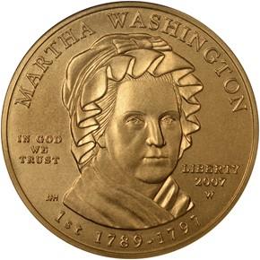 2007 W MARTHA WASHINGTON G$10 MS obverse