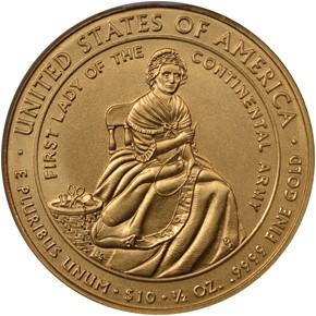 2007 W MARTHA WASHINGTON G$10 MS reverse