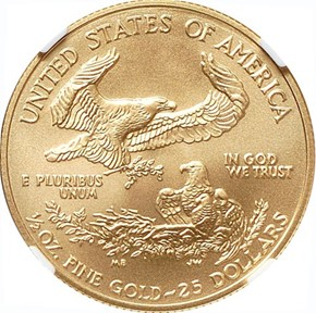 2008 EAGLE G$25 MS reverse