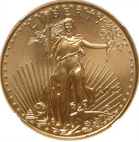 2009 EAGLE G$50 MS obverse