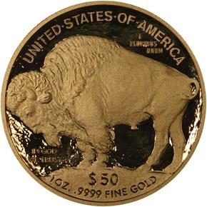 2009 W BUFFALO .9999 FINE G$50 PF reverse