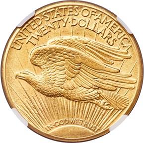 1932 $20 MS reverse