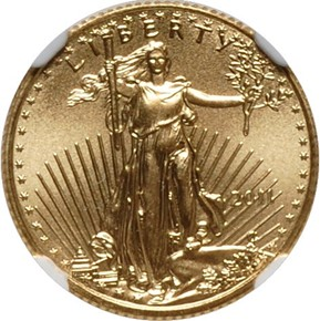 2011 EAGLE G$5 MS obverse