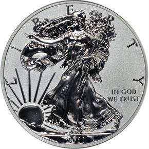 2011 P EAGLE REVERSE PF 25TH ANNIVERSARY SET S$1 P obverse