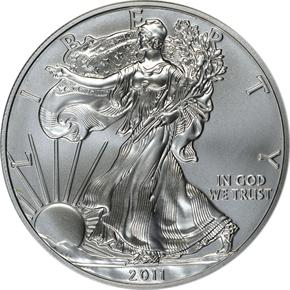 2011 EAGLE 25TH ANNIVERSARY SE obverse