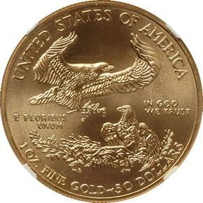 2012 EAGLE G$50 MS reverse
