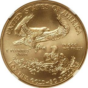 2013 EAGLE G$50 MS reverse
