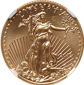 2013 EAGLE G$5 MS obverse