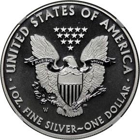 2013 W EAGLE WEST POINT EAGLE SET S$1 SP reverse
