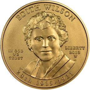 2013 W EDITH WILSON G$10 MS obverse