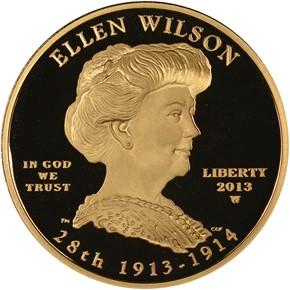 2013 W ELLEN WILSON G$10 PF obverse