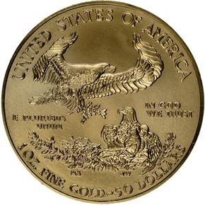 2014 EAGLE G$50 MS reverse
