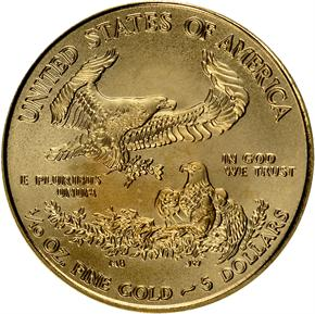 2014 EAGLE G$5 MS reverse