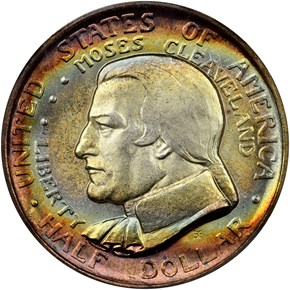 1936 CLEVELAND 50C MS obverse