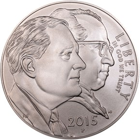 2015 P MARCH OF DIMES S$1 MS obverse
