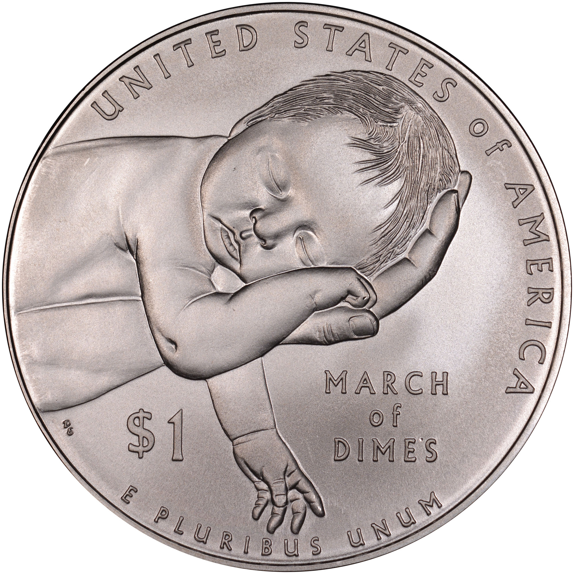 2015 P March Of Dimes S$1 MS Modern Commemoratives | NGC