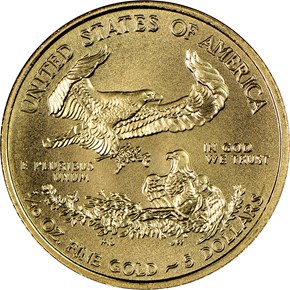 2016 EAGLE G$5 MS reverse