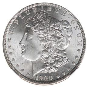 1900 O S$1 MS obverse