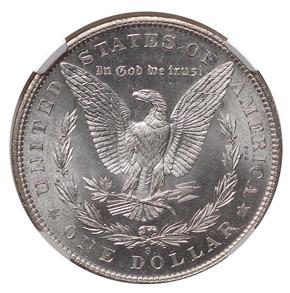 1901 S $1 MS reverse