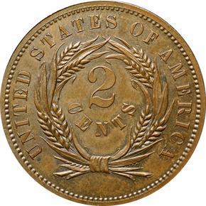 1863 J-305 2C PF reverse