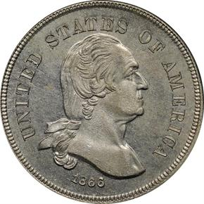 1866 J-461 5C PF obverse