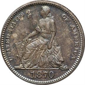 1870 J-796 3CS PF obverse