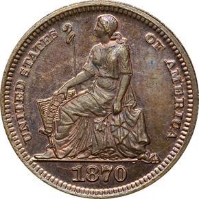 1870 J-798 3CS PF obverse